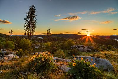 Cameron Lake Loop Sunrise