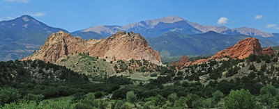 Majestic Garden of the Gods 1