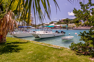 Flatts Inlet and Cove, Bermuda.