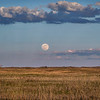 The May 2021 Supermoon rises over the Nebraska Sandhills near Valentine, Nebraska