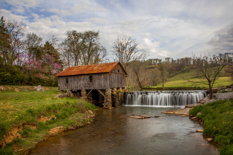 Spring Day at Cowan Mill