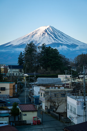 Dawn Breaks Over Fujikawaguchiko