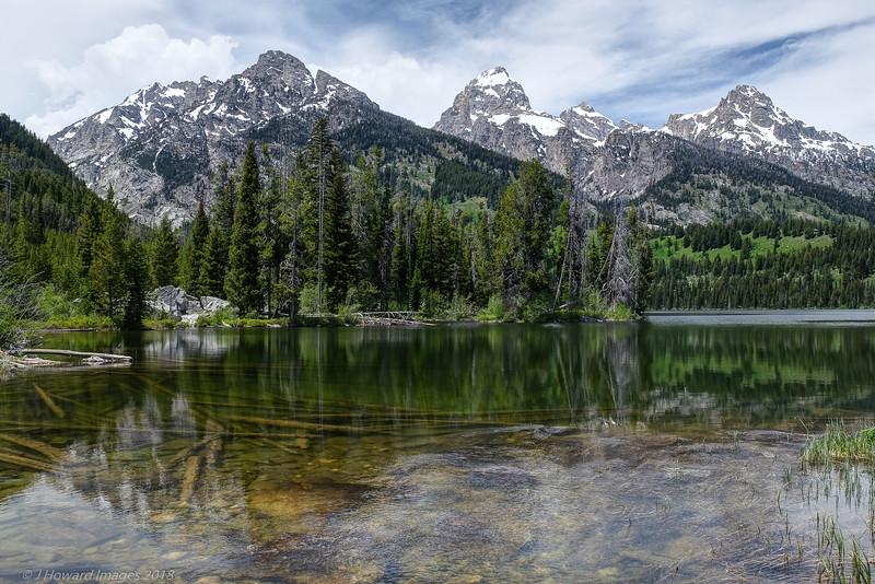 Taggart Lake and the Grand Tetons