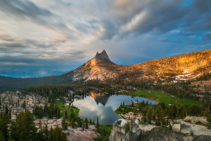 Upper Cathedral Lake, Yosemite National Park, CA
