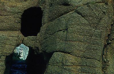 1212 Rock Window Porthguarra 1971