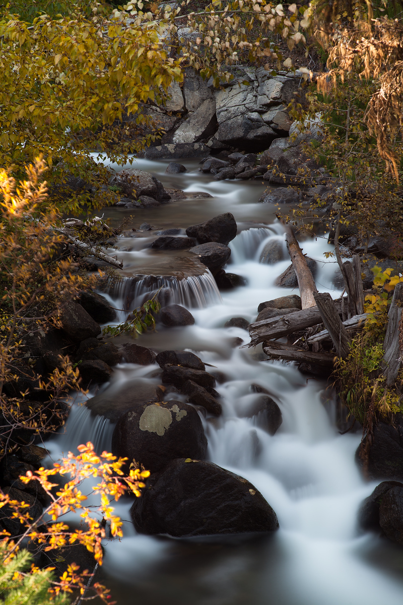 Autumn Stream, Stuart Range, Washington State