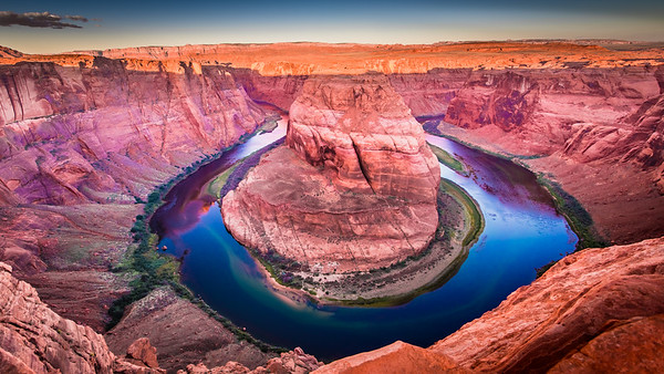 Horseshoe Bend, Early Light