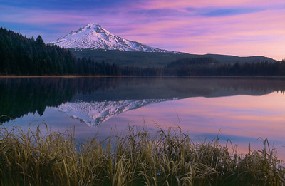 Mount Hood from Trillium Lake – Mount Hood National Forest, Oregon