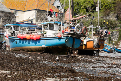 Fishing Boats, Cadgwith Bay