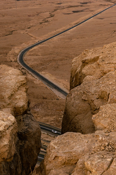 the road in the desert
