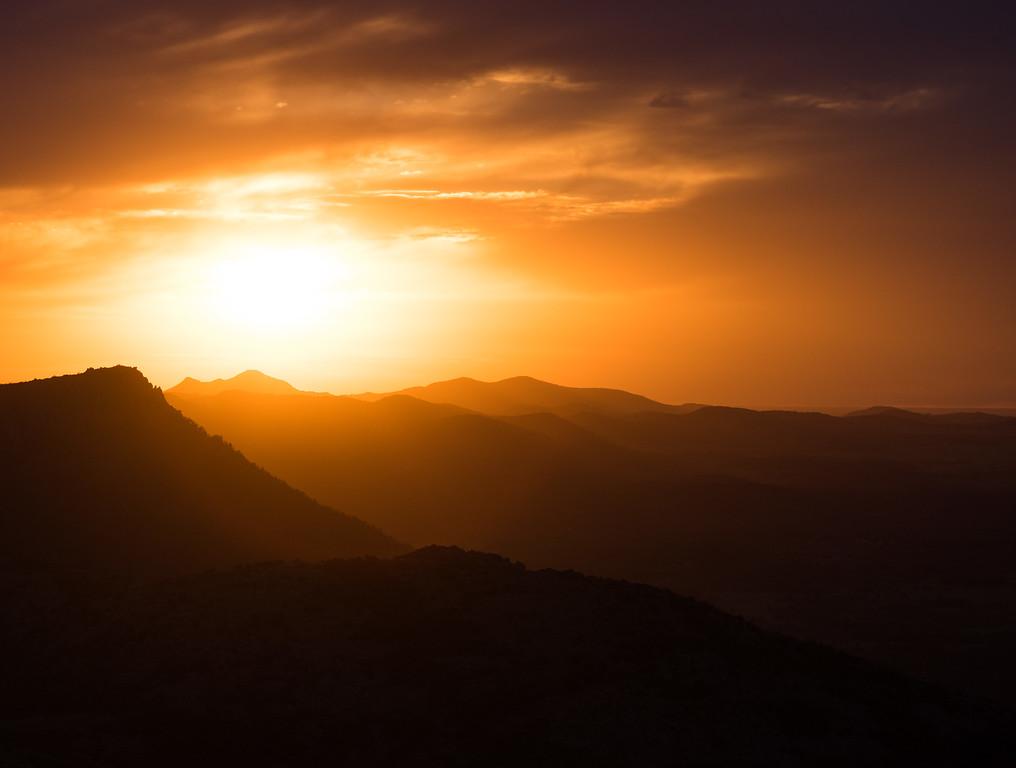 Wichita Mountains Sunset