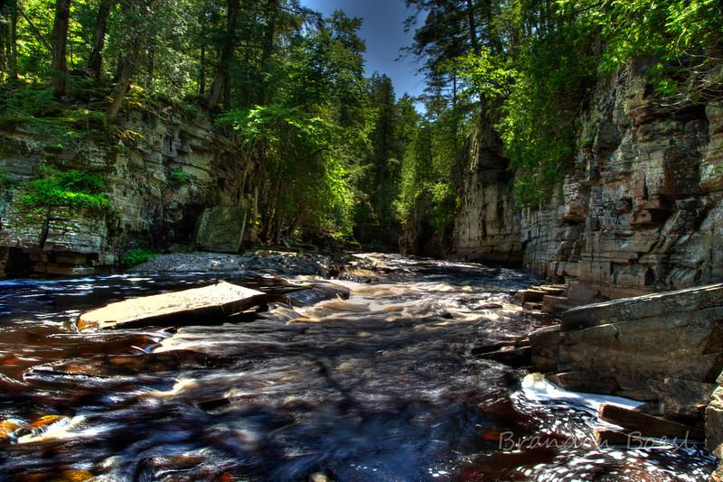 Canyon Falls Gorge