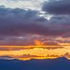cascades sunset ...
