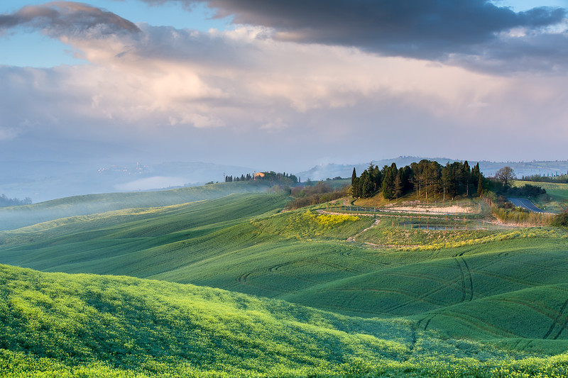 Early morning Val d'Orcia