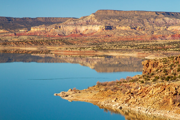 Reflections on Abiquiu Lake