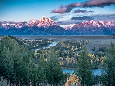 Snake River Overlook, Autumn