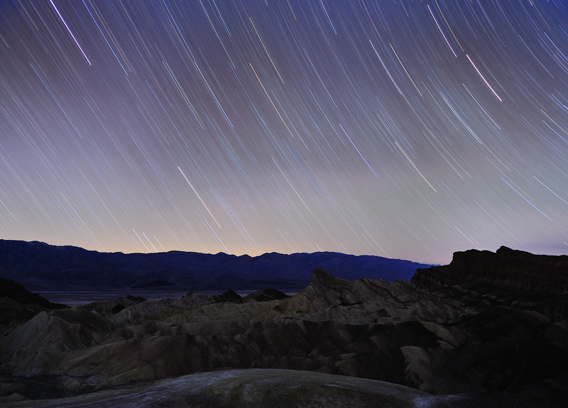 Star Trails, Death Valley