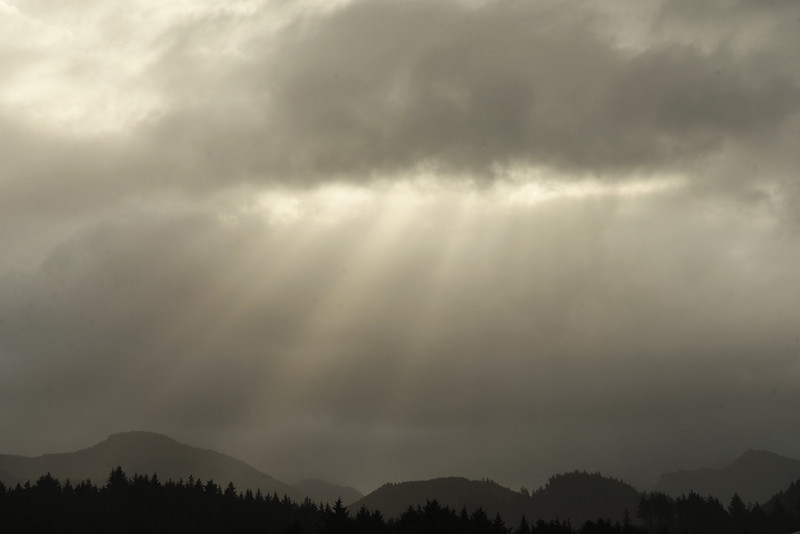 Sunbeams Along the Oregon Coast, OR