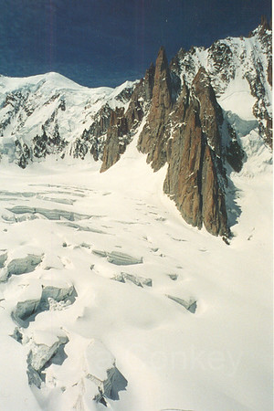 Aiguille du Midi, French Alps, France