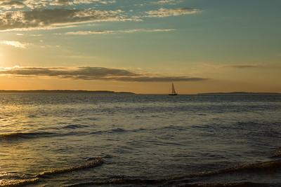Sailboat Sunset