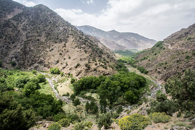 The Assif Imnane Valley in southern Morocco is a gorgeous place where people have lived for thousands of years. The terracing and riparian areas support hundreds of villages in the region.