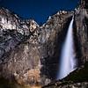 Upper Yosemite Falls Lunar Rainbow