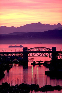 Burrard St. Bridge, Vancouver, Canada