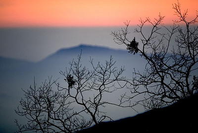 Sunset, Mt. Palomar, Ca