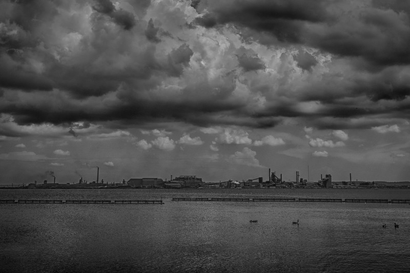 Stormy Clouds over the Steelworks