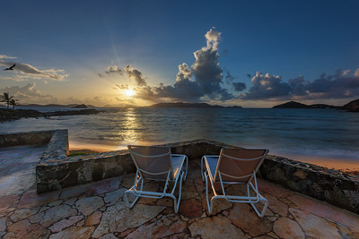 Sunrise for Two, Sapphire Beach, St Thomas USVI