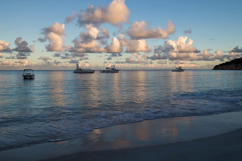 Morning Light on Dickenson Bay