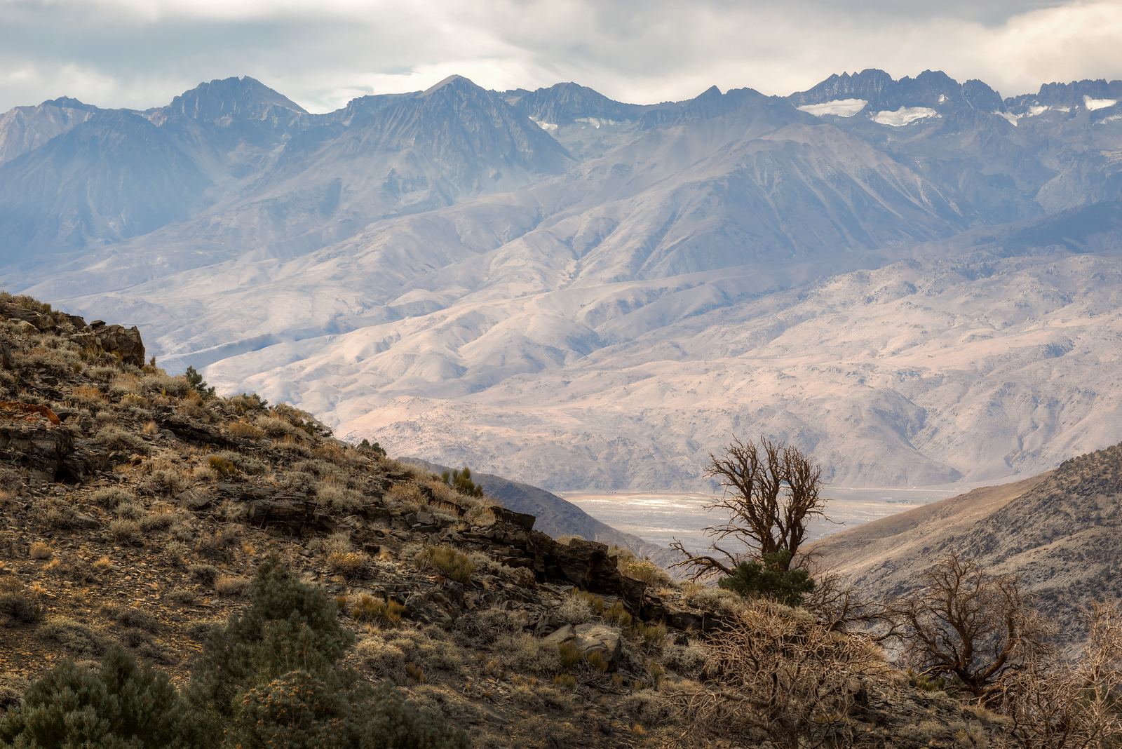 Owens Valley & The Palisades, California