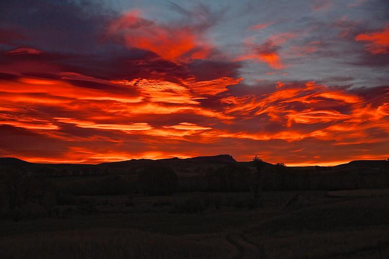 Sunrise #4.  Livingston, Montana