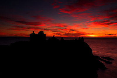 Dunnottar Castle Sunrise