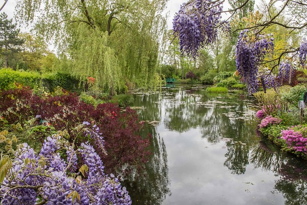 Monet's Lily Pond, Giverny, France
