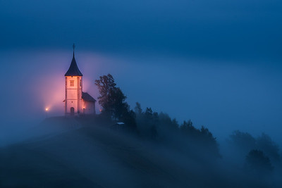 Church of Saints Primus and Felician, Jamnik, Slovenia