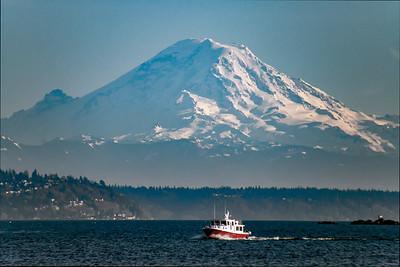 Mount Rainier Tug Boat