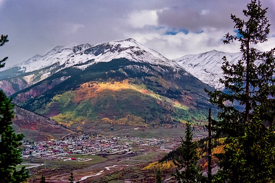 Silverton, Colorado, First Snow
