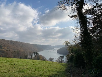 A view down the Dart from the Greenway estate