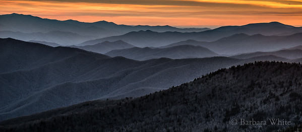 Smokey Mountains from Clingman's Dome