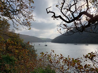 View down the River Dart from Greenway estate