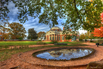 Monticello in Early Fall