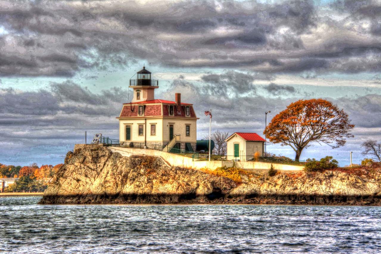 Pomham Lighthouse #6,.Rhode Island