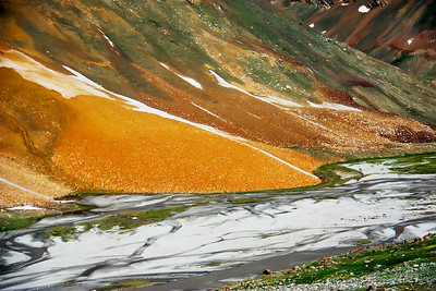 River Delta in Zanskar Valley