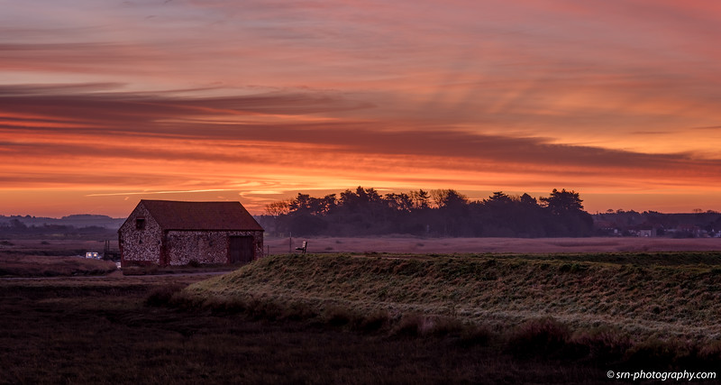 Winter Morning at Thornham Creek