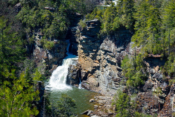 Linville Falls - Linville Gorge Wilderness - NC-8