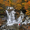 Kaaterskill Falls in the Catskill Mountains, New York