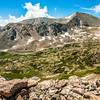 View from Arapahoe Pass Trail