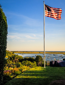 Old Glory Over Chatham Bay