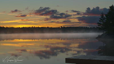 Mist on Gull Lake